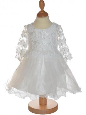 robe de cérémonie peite mariée ivoire INES