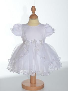 Robe de baptême blanche EMILIE
