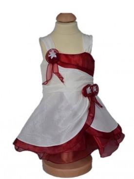 400df22e598 Robe demoiselle d honneur pour enfants - Couleur Bordeaux