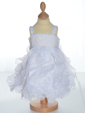 Robe de baptême blanche fille GRACE
