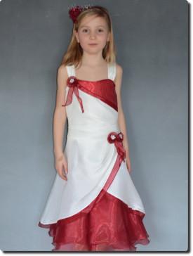 Robe enfants pour mariage, petit prix, bordeaux  MARGOT
