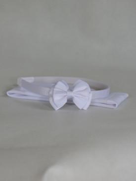 Lot serre-tête et bandeau blanc pour enfants