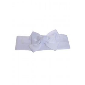 Bandeau blanc jolie noeud