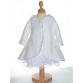 Manteau cape pour baptême
