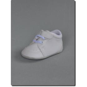 71ff5a00a1d77 Chaussure blanche de baptême bébé garçon Harry