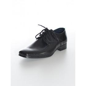Chaussure noir cérémonie garçon ADRIEN