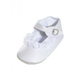 Chaussure bébé baptême EMILIE