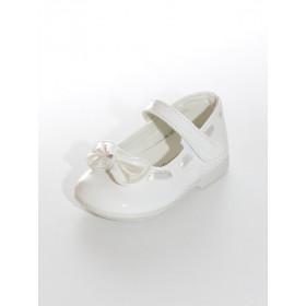 Chaussures de cérémonie fille blanc cassé  NINON