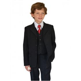 Costume garçon cérémonie noir ANTONIN