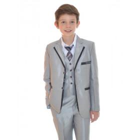 Costume garçon pour cortège enfant gris NOA