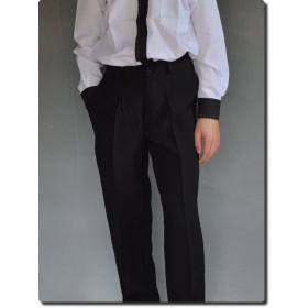 Pantalon de cérémonie noir garçon