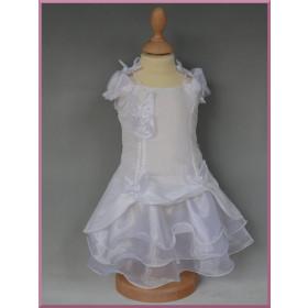 Robe de baptême blanche bébé fille LISA