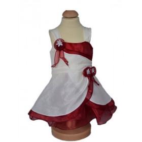 Robe de cérémonie bébé fille bordeaux MARGOT