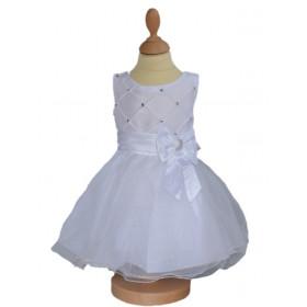 Robe de cérémonie fille blanche GLADYS