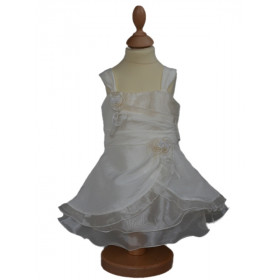 Robe de cérémonie ivoire bébé fille ALICIA