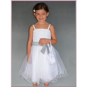 Robe de mariage, baptême  fille AGATHA