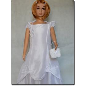 Robe de baptême blanche fille LISA