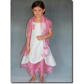 Robe cérémonie fille rose SARAH