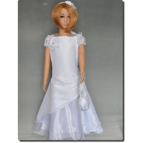 Robe de baptême fille blanche LOUNA