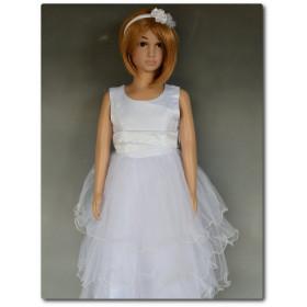 Robe de princesse pour fille blanche LYS