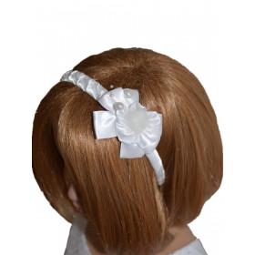 Serre-tête cheveux fille pour cérémonie