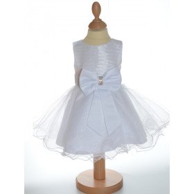 Robe de baptême blanche fille LOUISA