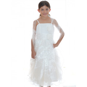 Robe cortège fille ivoire PALOMA